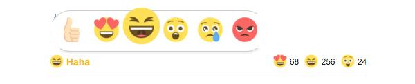 Emoji tepki eklentisi dw reactions Ekran görüntüsü