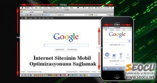İnternet Sitesinin Mobil Optimizasyonunu Sağlamak