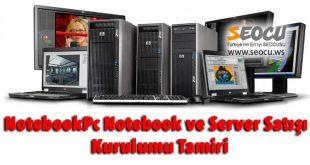 Pc Notebook ve Server Satışı ve Kurulumu