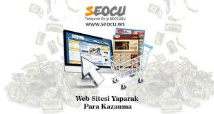 Web Sitesi Yaparak Para Kazanma