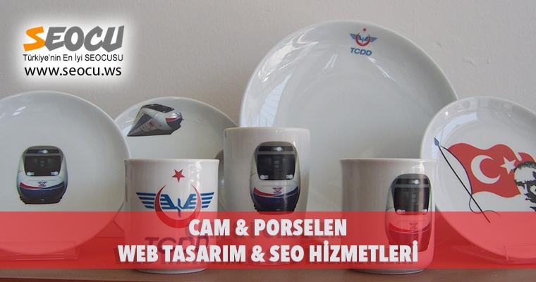 Cam & Porselen Web Tasarım & Seo Hizmetleri