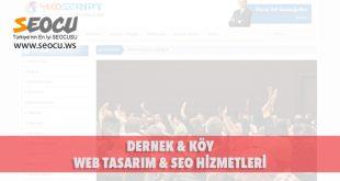 Dernek & köy Web Tasarım & Seo Hizmetleri