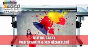 Dijital Baskı Web Tasarım & Seo Hizmetleri