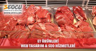 Et Ürünleri Web Tasarım & Seo Hizmetleri