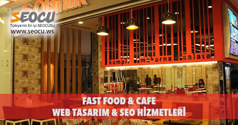 Fast Food & Cafe Web Tasarım & Seo Hizmetleri