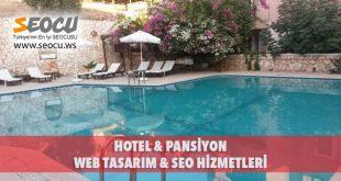 Hotel & Pansiyon Web Tasarım & Seo Hizmetleri