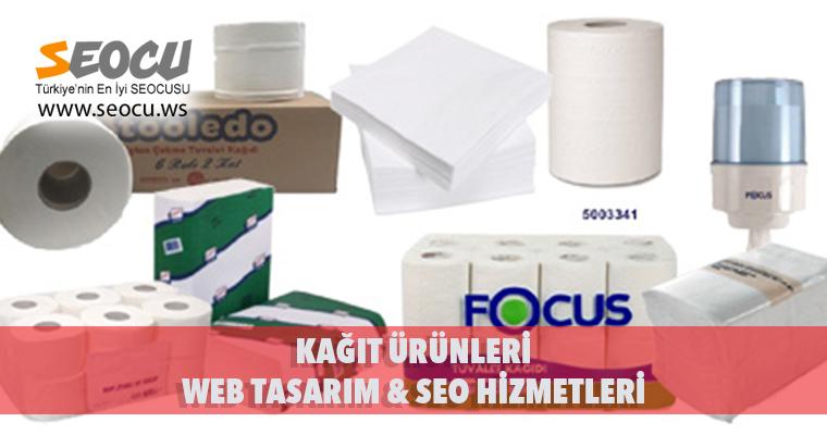 Kağıt Ürünleri Web Tasarım & Seo Hizmetleri