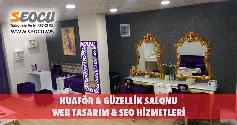 Kuaför & Güzellik Salonu Web Tasarım & Seo Hizmetleri