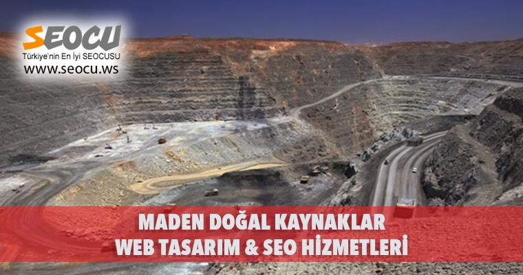 Maden Doğal Kaynaklar Web Tasarım & Seo Hizmetleri
