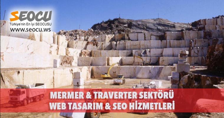 Mermer & Traverter Sektörü Web Tasarım & Seo Hizmetleri