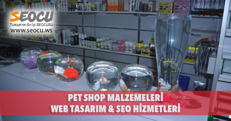 Pet Shop Malzemeleri Web Tasarım & Seo Hizmetleri
