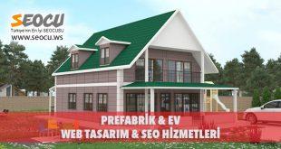 Prefabrik & Ev Web Tasarım & Seo Hizmetleri