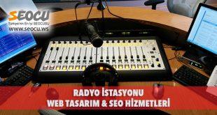Radyo İstasyonu Web Tasarım & Seo Hizmetleri