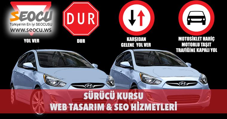 Sürücü Kursu Web Tasarım & Seo Hizmetleri