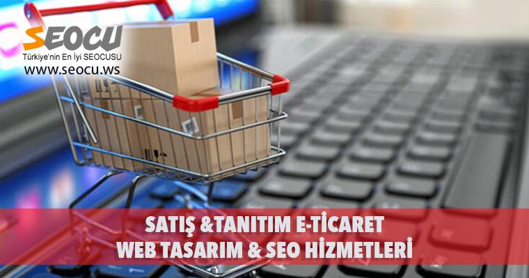 Satış & Tanıtım E-Ticaret Web Tasarım & Seo Hizmetleri