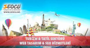 Turizm & Tatil Sektörü Web Tasarım & Seo Hizmetleri